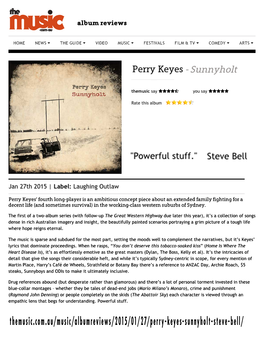 perry keyes laughing outlaw records posted